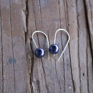 Madeline Pearl Drop Earrings-Liv & B