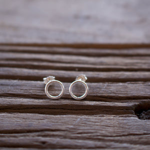 Tranquility Ring Silver Necklace-Liv & B