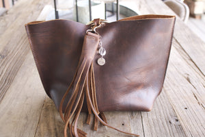 Carried Away Leather Bag