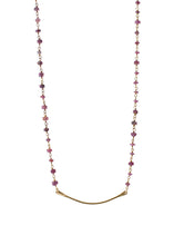 Load image into Gallery viewer, Margaret Gemstone Bar Necklace-Liv & B