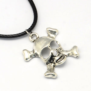 Skull and Crossbones Necklace
