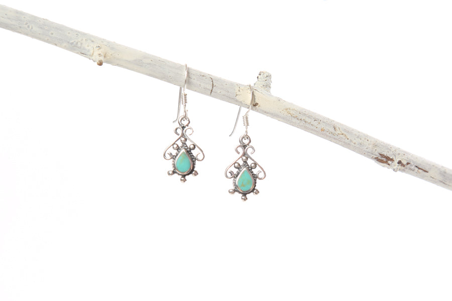 Turquoise Earrings-Small