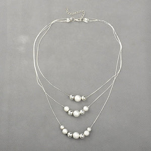 Stardust Triple-Strand Necklace