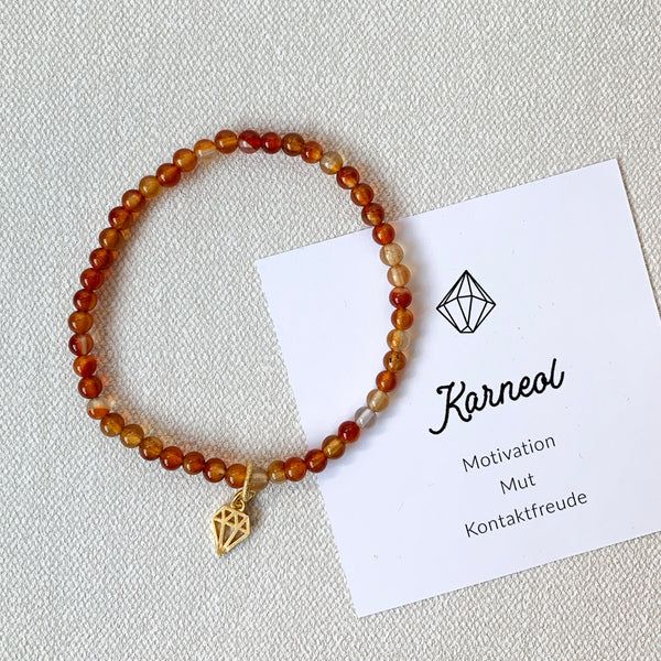 Armband Karneol - Mut & Motivation