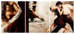 Breathless - Canvas Triptych Print