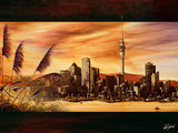 City Dawn - Canvas Print