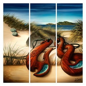 Echoes of the Land - Canvas Triptych Print