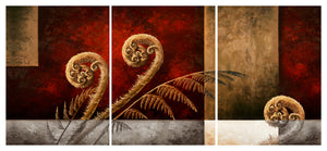 Into the Light - Canvas Triptych Print