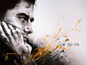 Still the Greatest - Ayrton Senna Canvas Print