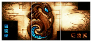 State of Grace - Canvas Triptych Print