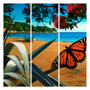 Summer's Day - Canvas Triptych Print