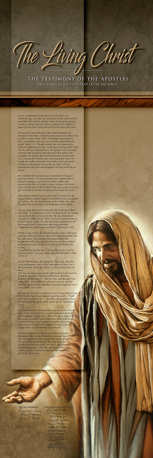 The Living Christ - Canvas Print 001