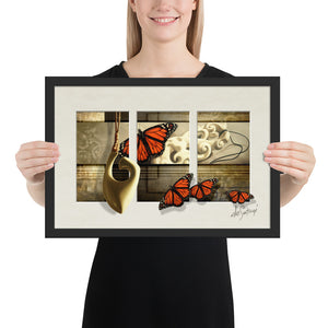 FRAMED - Fine Art Triptych - Saving Grace