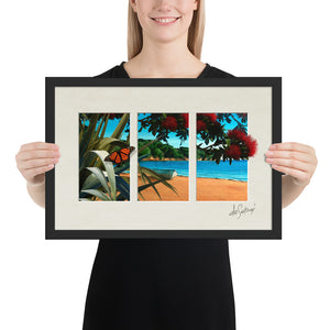 FRAMED - Fine Art Triptych - Summer's Day