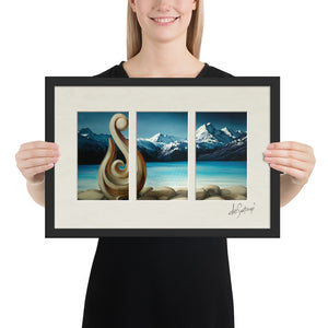 FRAMED - Fine Art Triptych - Secluded Silence