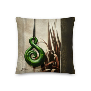 Square Pillow - Shade of Jade