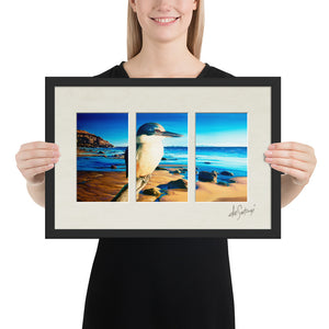 FRAMED - Fine Art Triptych - By the Delta