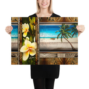 Fine Art Paper Print - Pacific Beat