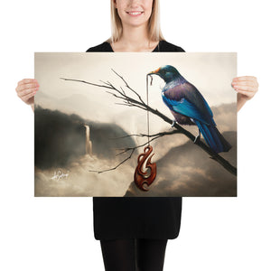 Fine Art Paper Print - No Boundries