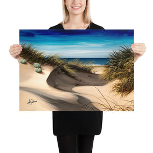 Fine Art Paper Print - Coastal Summer