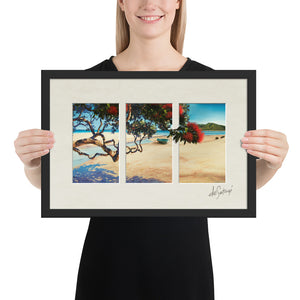 FRAMED - Fine Art Triptych - Summer's Afternoon