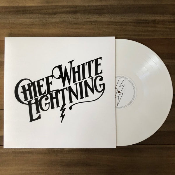 CHIEF WHITE LIGHTNING · CHIEF WHITE LIGHTNING WHITE VINYL/T-SHIRT BUNDLE