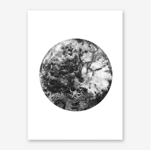 Load image into Gallery viewer, BLACK MOON Art Print