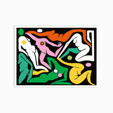 Load image into Gallery viewer, CURVIES MULTICOLOR Art Print