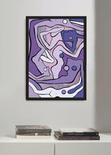 Load image into Gallery viewer, ECSTATIC NUDES 2 LILAC Art Print