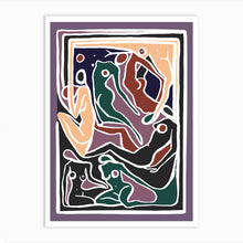 Load image into Gallery viewer, ECSTATIC NUDES 5 LILAC Art Print