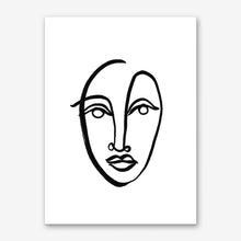 Load image into Gallery viewer, FACES 9 Art Print