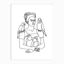 Load image into Gallery viewer, FRIDA AND BIRDS Art Print