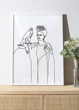 Load image into Gallery viewer, FRIDA AND FALCON Art Print