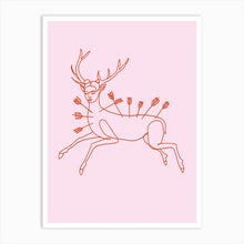 Load image into Gallery viewer, FRIDA WOUNDED DEER Art Print