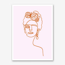 Load image into Gallery viewer, FRIDA KAHLO PINK Art Print