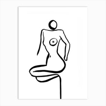 Load image into Gallery viewer, NUDE 16 Art Print