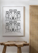 Load image into Gallery viewer, TIGER SQUAD Art Print