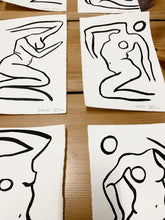 Load image into Gallery viewer, **SOLD** MYSTERIOUS NUDES ORIGINALS