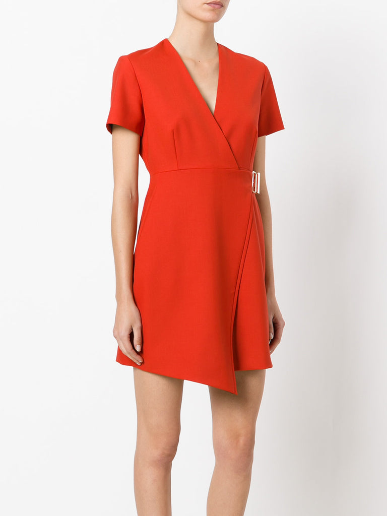 Carven Crossed Mini Dress