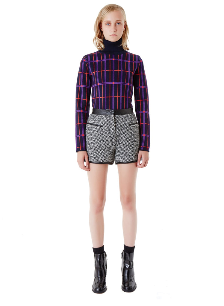 Carven Tweed Shorts