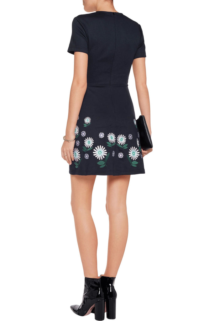 MARKUS LUPFER DITSY DAISY EMBROIDERED HEIDI DRESS