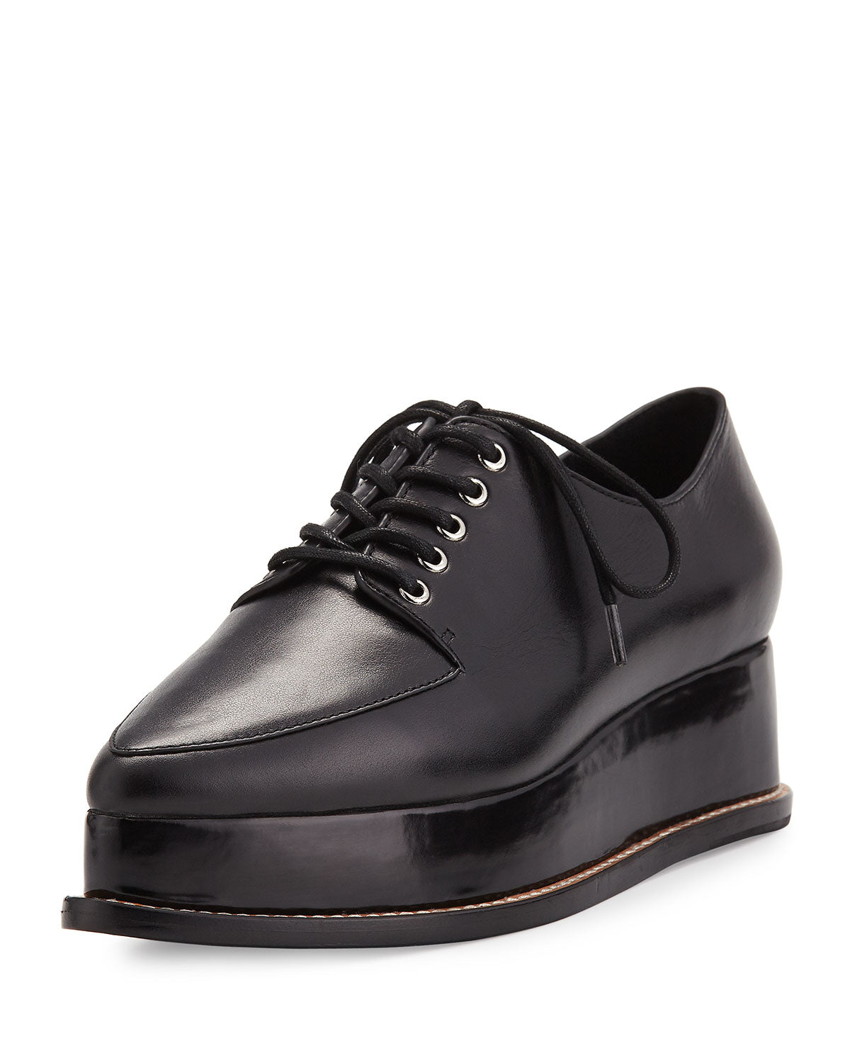Eleanora Lace-Up Platform Oxford – Be