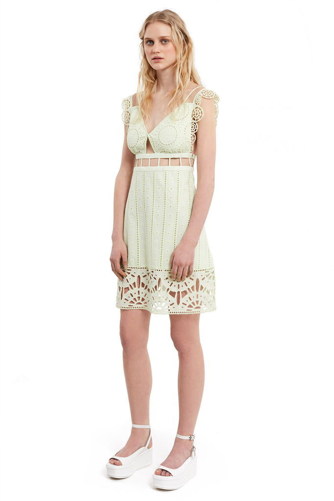 Anglaise Babydoll Dress