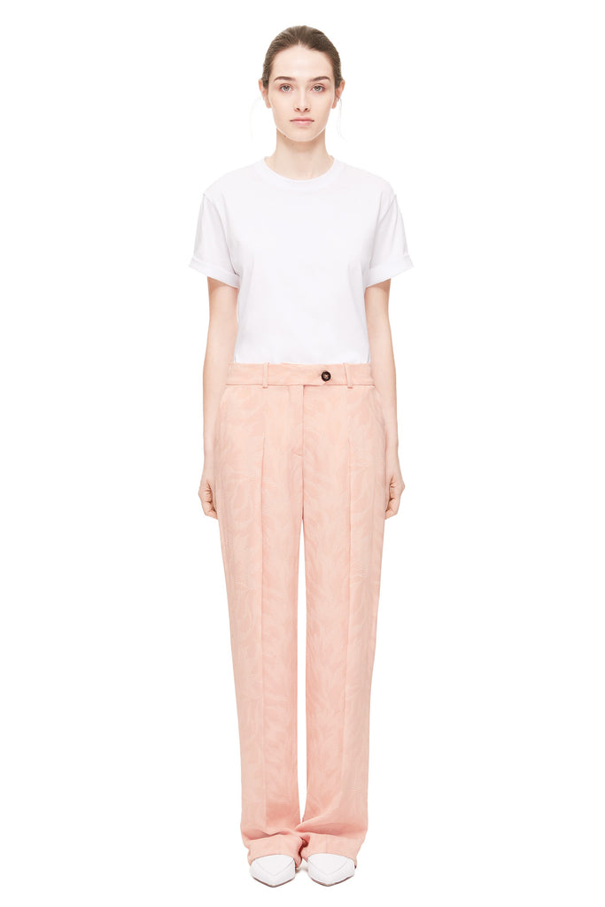 Slim Font Pleat Pant