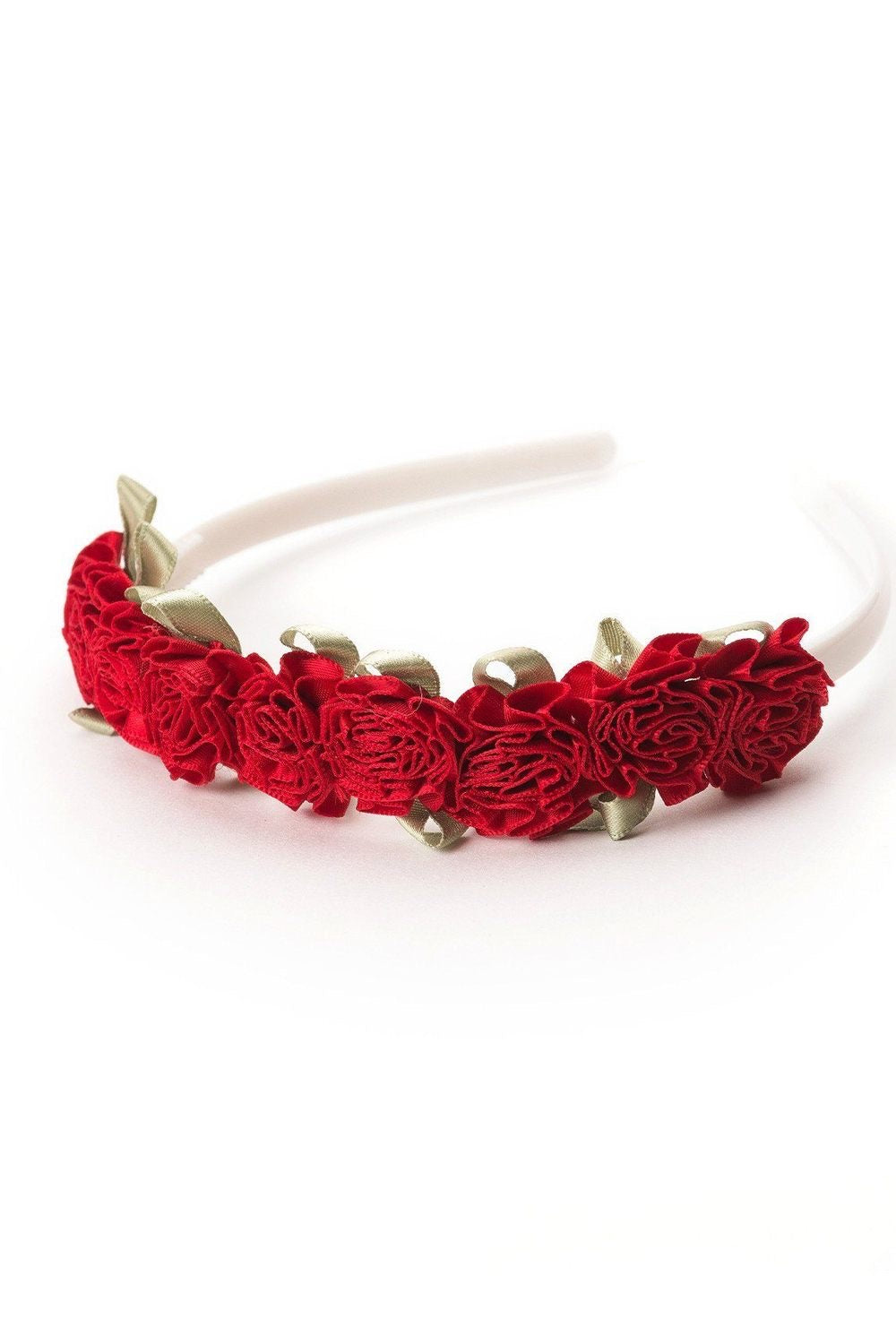 Flower Headband Red