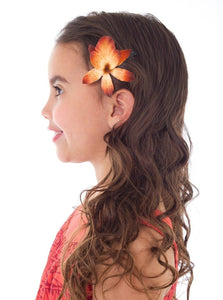 Polynesian Princess with Hair Clip