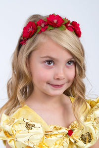 Multiple Colors of Flower Headbands