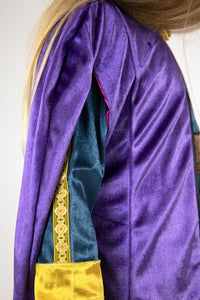 Purple Scandinavian Cloak