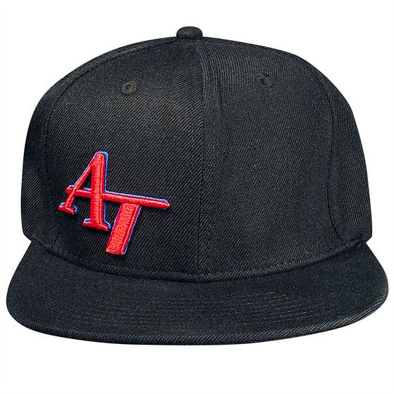 American Tackle Flat Bill Hat - Black
