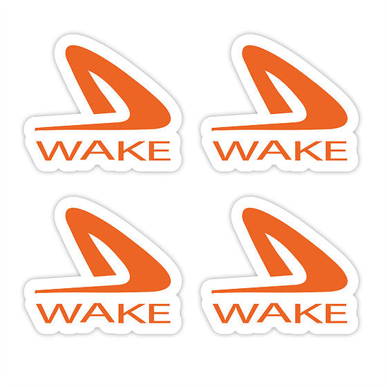 Wake Lures Logo Decal 4 Pack